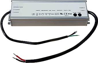 Larson Electronics DCP-16-24V Waterproof Transformer Converts 120-277V AC to 24V Dc - 8 Amps Max