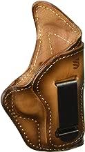 BLACKHAWK! Premium Leather Isp W/Clip Kimber Micro, 9 RH Box Burnished Brown