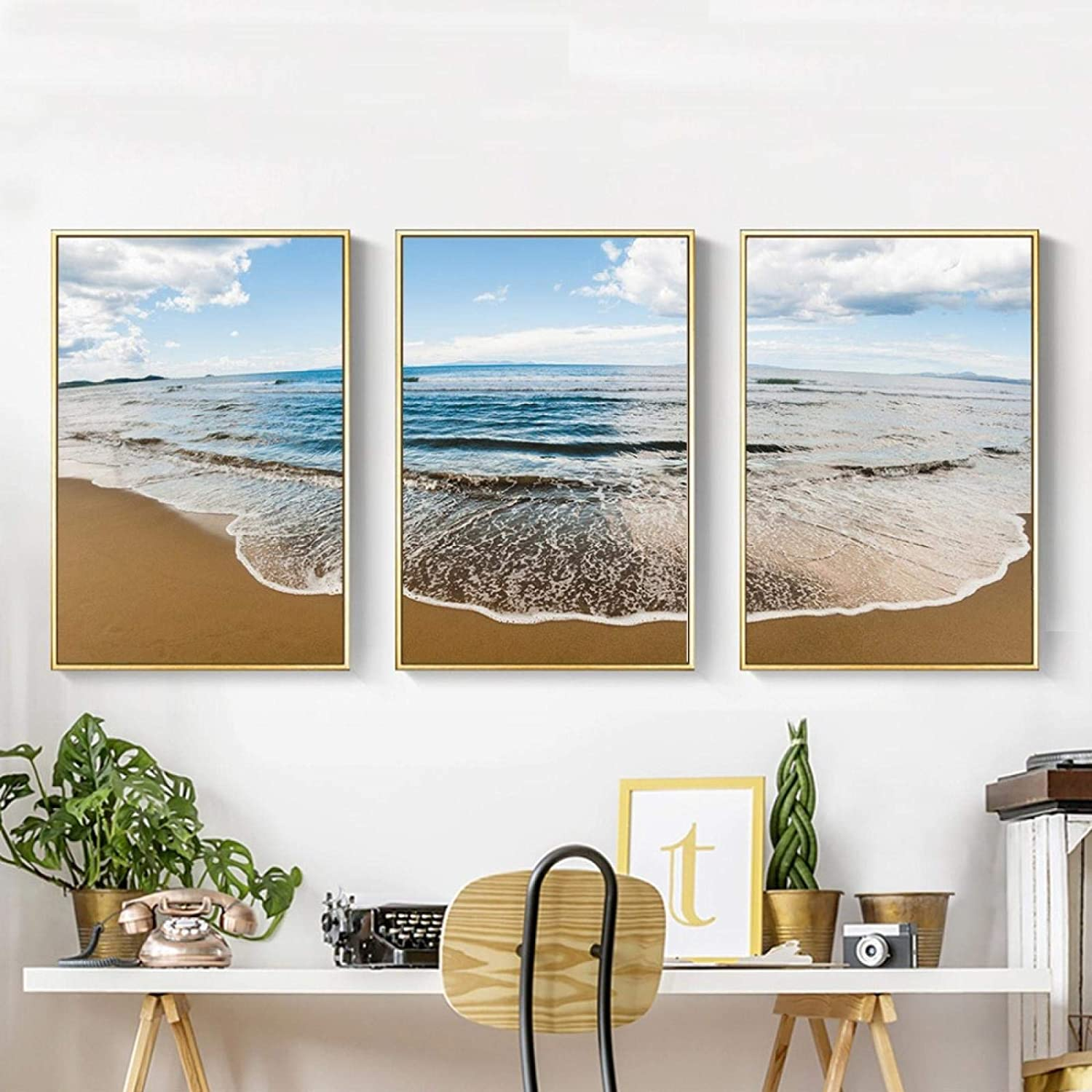 Style Sea and Beach Landscape Wall Outlet Cash special price SALE Poster Print Canvas C Art