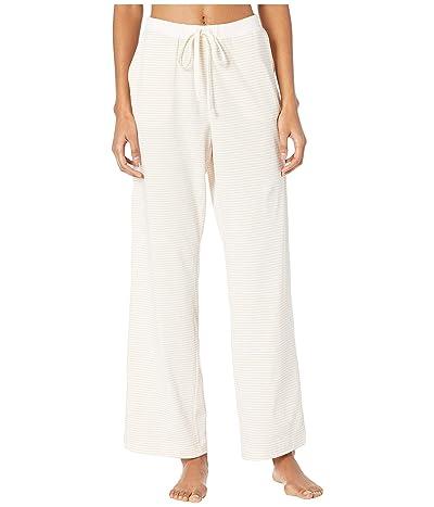Skin Marnie Pants (White/Toasted Almond Stripe) Women