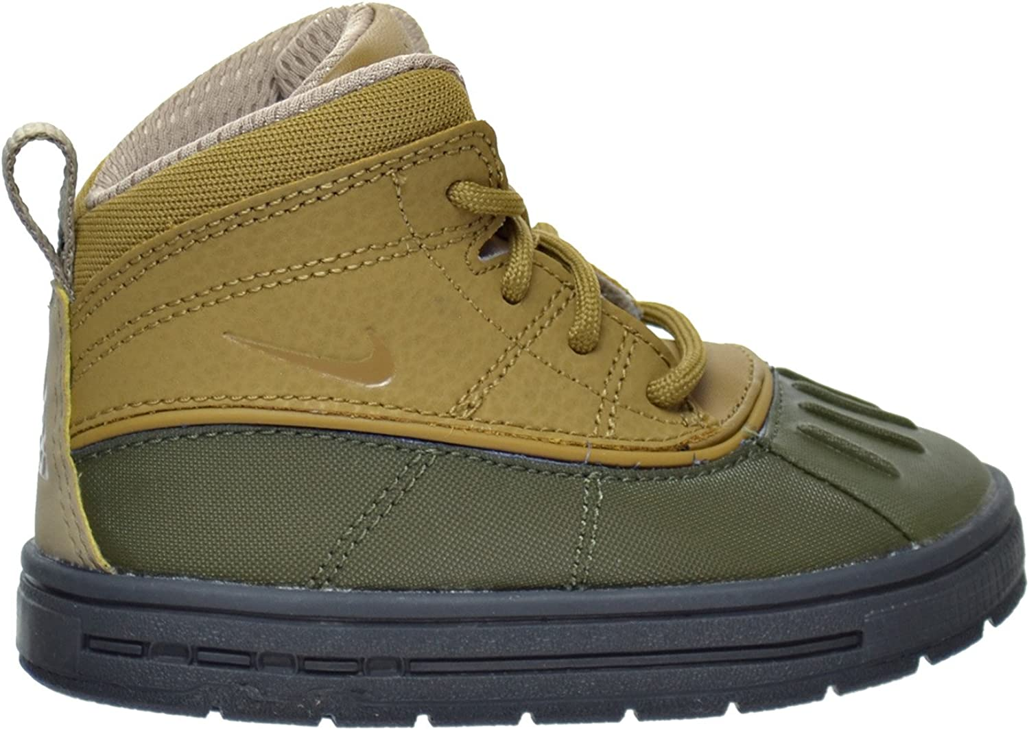 NIKE Woodside 2 High Cargo Khaki Golden Beige-Khaki (Toddler) (5 M US Toddler)