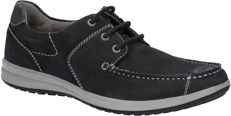 Hysch Valpar herr springaner springaner springaner Mocasin Lace Up skor svart Storlek UK 10 EU 45  varumärke