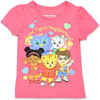 Daniel Tiger Toddler Girls Short Sleeve Tee