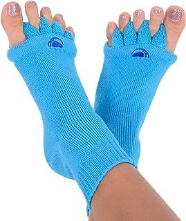 Original Foot Alignment Socks Blue (Womens 7-9/Mens 5-8) Happy Feet (Medium)