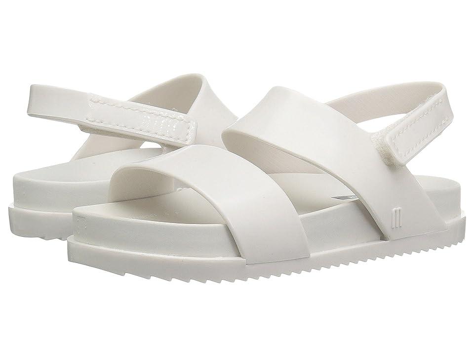 Mini Melissa Mini Cosmic Sandal (Toddler/Little Kid) (White) Girls Shoes