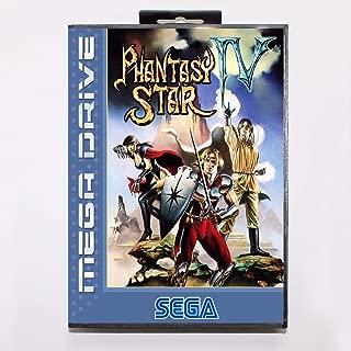TopFor Phantasy Star Iv Game Cartridge 16 Bit Md Game Card With Retail Box For Sega Mega Drive For Genesis