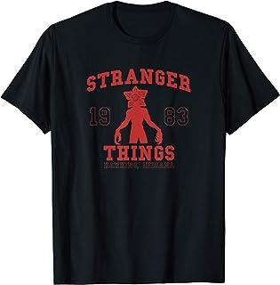 Stranger Things Demogorgon Collegiate 1983 Hawkins Indiana T-Shirt