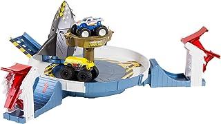 Hot Wheels Monster Trucks Mecha Shark Face-Off Play Set - FYK14