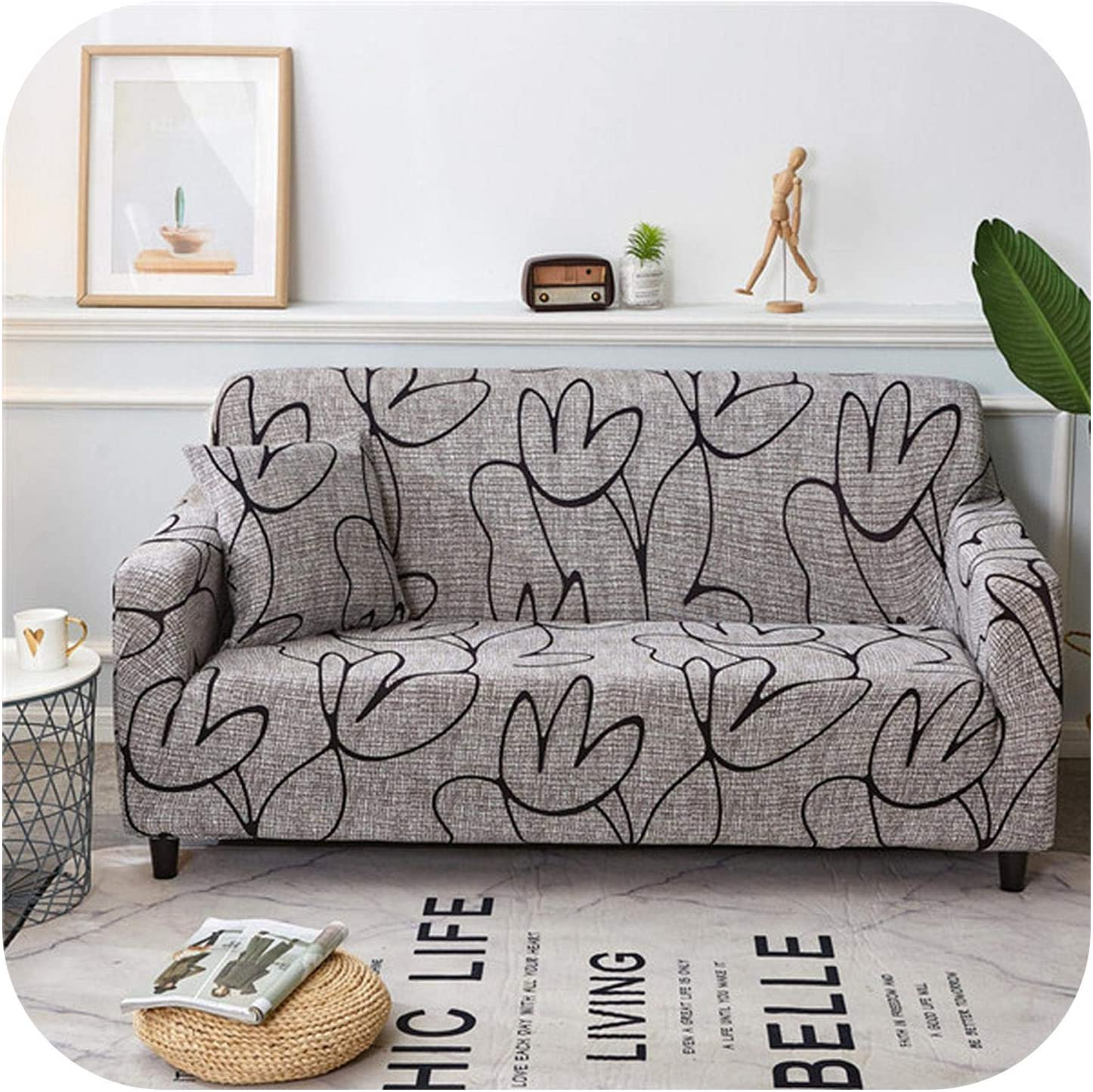 FAT SHEEP Pmxxy Modern Elastic New product type Genuine Free Shipping Sofa Room Cover Living Spande for