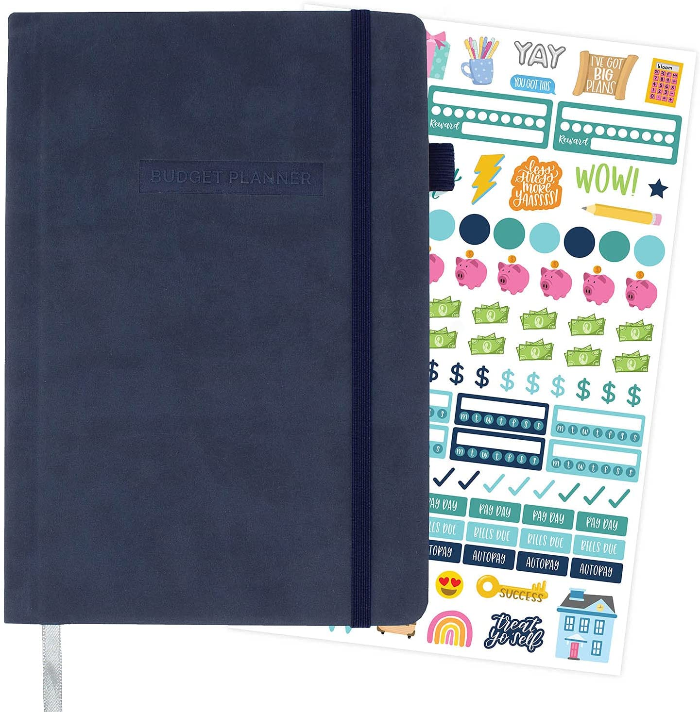 bloom Special price daily Max 54% OFF planners Undated Monthly Planner Finances E Budget