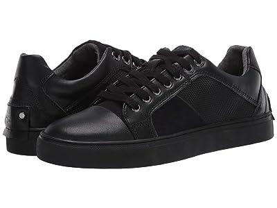 Steve Madden Mister Sneaker (Black Leather) Men
