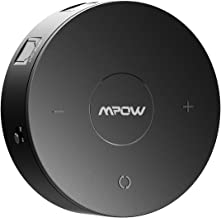 Mpow Bluetooth 4.1 Receiver/Transmitter with aptX Low Latency in RX/TX, Bluetooth Wireless Audio Adapter with Digital Optical SPDIF for TV and Home Stereo System, Black