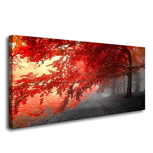 Red Wall Decor Pictures Amazoncom