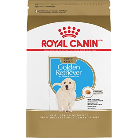 Royal Canin Golden Retriever Puppy Breed Specific Dry Dog Food, 30 Pounds Bag