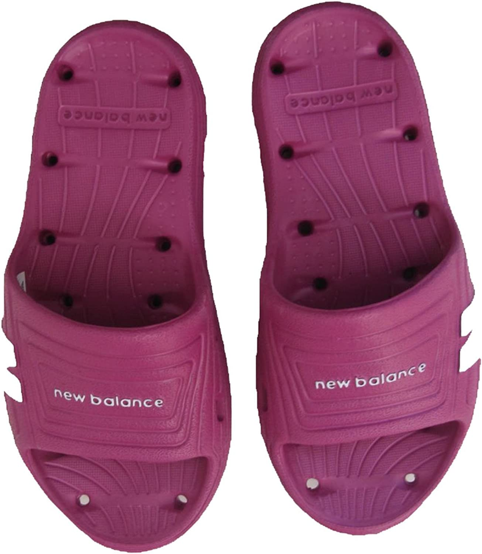 New Balance Kids Float Slide Sandals Purple