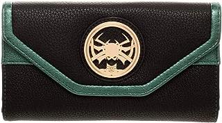 Marvel Thor Ragnarok Hela Trifold Flap Wallet Black PU Leather Goddess of Death