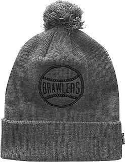 Crooks & Castles Mens Brawlers Pom Knit Beanie Hat