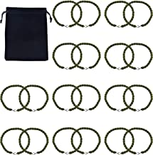 Gejoy Military Boot Straps Blousing Garters Elastic Boot Bands with Metal Hooks for Army green and Air Force, 10 Pairs