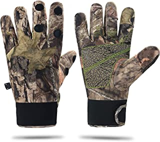 Camouflage Hunting Gloves Full Finger/Fingerless...