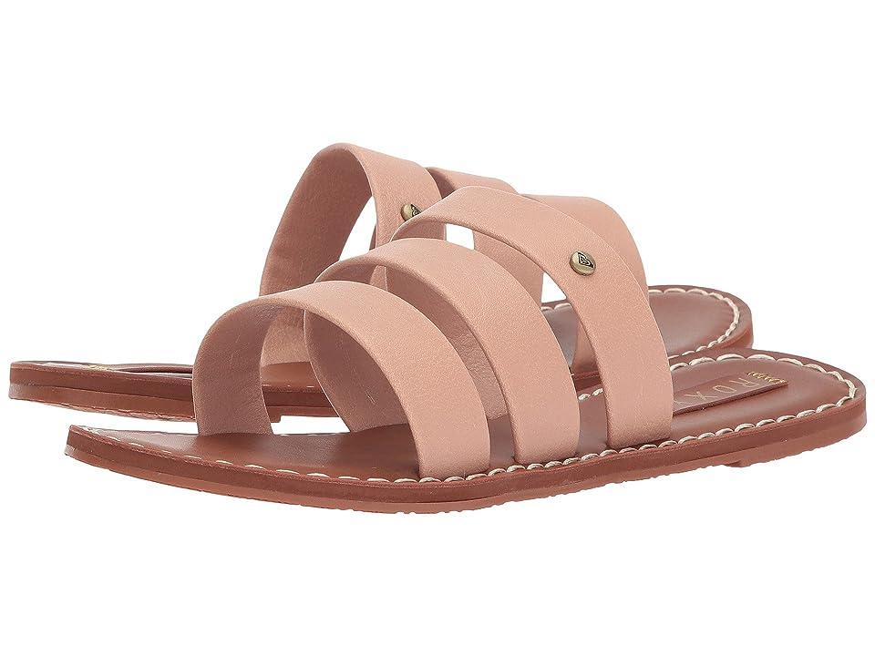 Roxy Sonia Three Strap Sandals (Blush) Women
