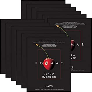 MCS 8x10 Inch Format Frame 12-Pack, Black (65553)