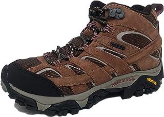 Merrell Men's Moab 2 Mid Waterproof Hiking Boot, Carob, 7.5 M US