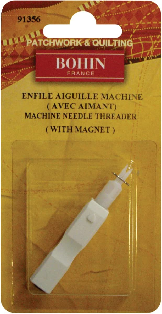 Max 64% OFF Bohin 91356 Sewing Machine Topics on TV Needle 15.5 by Threader 18.25-Inch