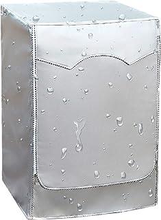 【カバー専門】洗濯機カバー ドラム洗濯機用 ドラム式 耐用5年保証L 7~8kg対応 老化防止 屋外 防水 防塵 防湿 紫外線遮断 日焼け止め 光耐久 過熱保護 三面包み 全自動ドラム洗濯機適用 (L 7~8KG対応)