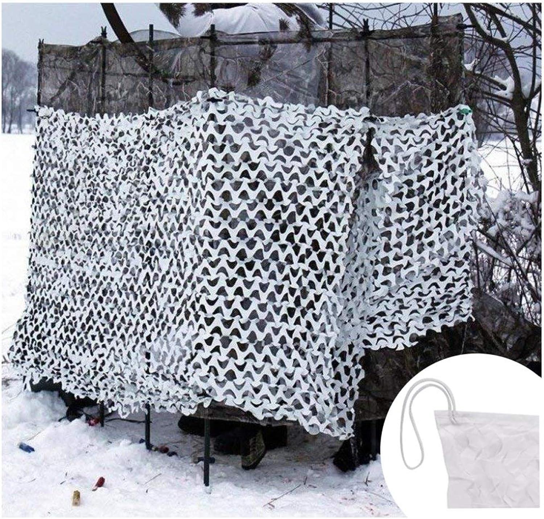 ZHhome Camouflage Sunscreen Net, Wei Schatten Net Oxford Tuch Zelt, Geeignet Für Outdoor Kinder Armee Thema Party Gartendekoration Auto Abdeckung Jagd Schuss (Multi-Gre Optional)