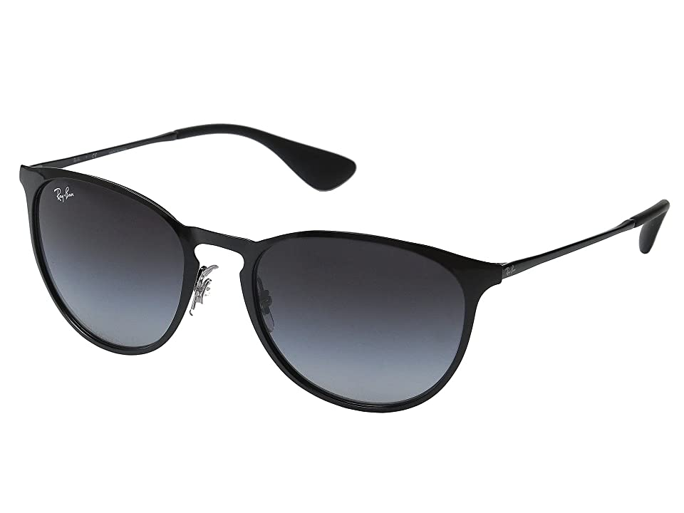 Ray-Ban Erika Metal RB3539 54mm (Black Frame/Grey Gradient Lens) Fashion Sunglasses