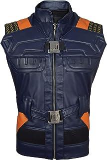 Erik Killmonger Leather Vest-MIcael B Jordan Panther Vest, XXS-3XL