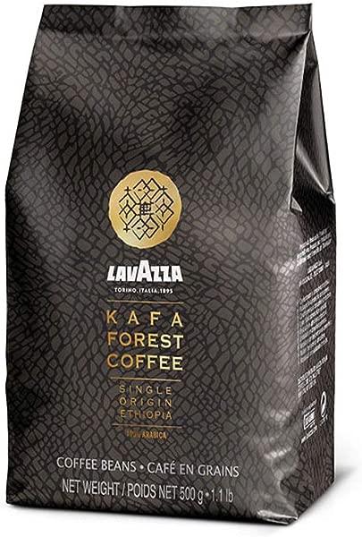 Lavazza Kafa 森林咖啡全豆单一产地埃塞俄比亚 100 阿拉比卡 1 1 磅袋装 1 个