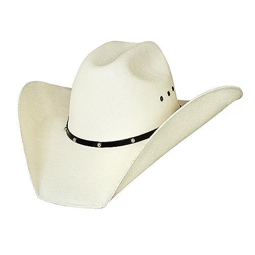 Justin Moore Montecarlo Bullhide Hats Double Barrel Ace Western 50X  Manhatten Straw Cowboy Hat (7 94598adbe357