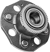 TUCAREST 512178 Rear Wheel Bearing and Hub Assembly Compatible With 1998 1999 2000 2001 2002 Honda Accord (L4 2.3L;4-Wheel ABS Models Only) [4 Lug W/ABS](512177)