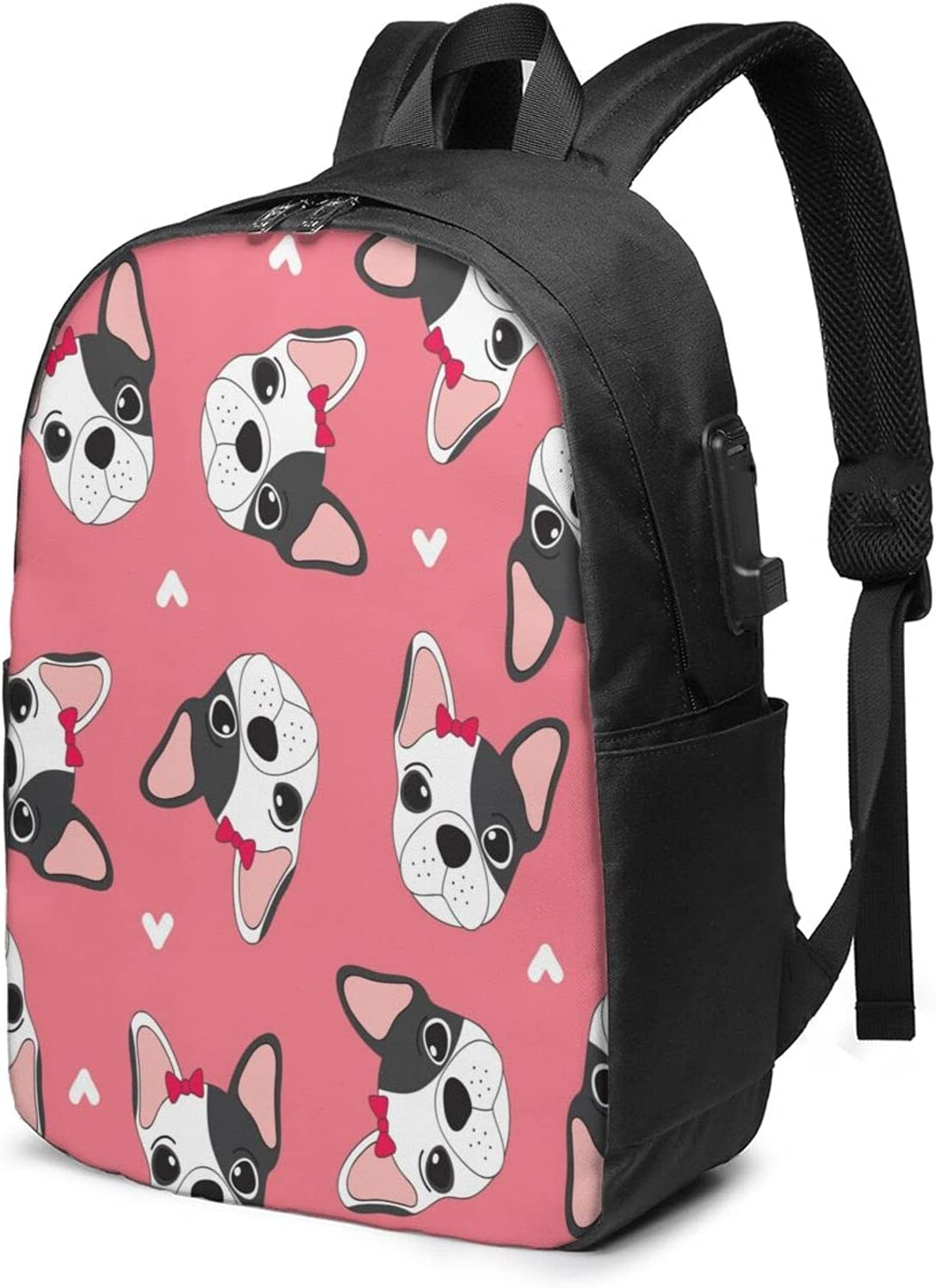 Cartoon Cute Dog Laptop Backpack For Usb 70% OFF Mesa Mall Outlet Daypack Boys with Ch