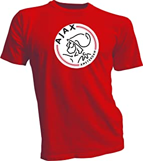 AFC Ajax Amsterdam Football Club Soccer T-SHIRT Red XL
