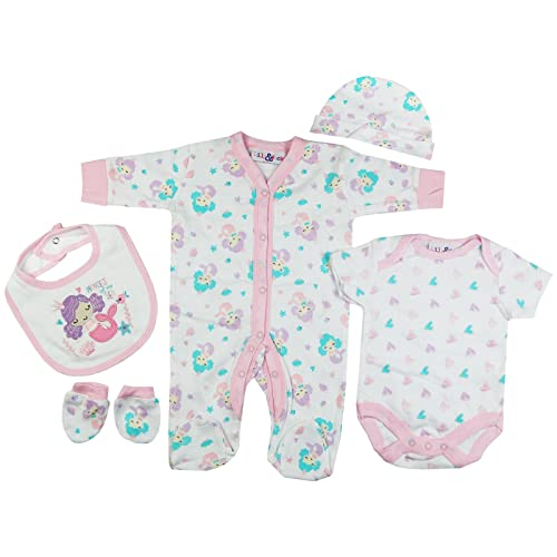 Unisex Presents Gifts For Newborn Baby Boys Girls Toddler Unisex Cute  Clothing Sets Sleepsuit Vest Bib 8f14568baac5