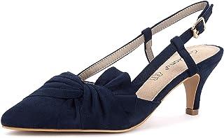 Greatonu Chaussures Pointues Pointure Large à Talons Hauts Sexy Femme Sandales High Heels Femme Escarpins Talon Aiguille e...