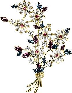 Broche De Flores, Broche De Feminidad De Alta Gama, Elegante Traje De Lujo Y Accesorios De Pin De Traje, Broche para Hombre