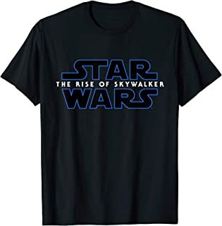 Star Wars Episode IX The Rise of Skywalker Logo T-Shirt