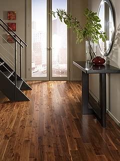 Acacia Walnut Solid Prefinished Hardwood Wood Floor Flooring - Morning Coffee