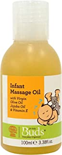 Buds Organics Buds Everyday Organics Infant Massage Oil, 3.38 fl.oz