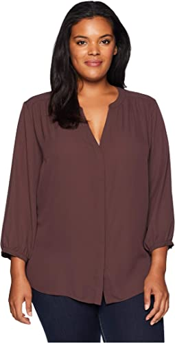 c395d24960b Vince camuto specialty size plus size long sleeve asymmetrical cold ...