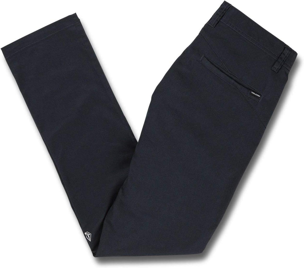 Volcom Frickin Skinny Chino Pantalon Homme Marine (Dark Navy)