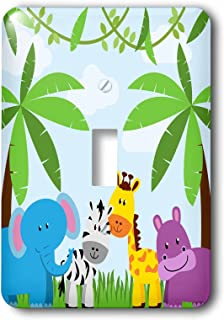 Best jungle animals light switch cover Reviews