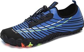 Zapatos de Agua Hombres Mujeres Calzado Acuático Seco Rá