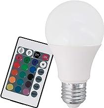 EGLO RGB-W LED E27 lamp, gloeilamp met RGB en warmwit, 7,5 watt (komt overeen met 40 watt), 470 lumen, E27 LED dimbaar, RG...