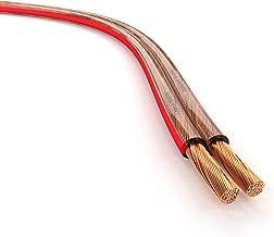 KabelDirekt 15m Cable de Altavoces (2x1,5mm² Cable de altavoz HiFi, Made in Germany, de cobre puro, con indicación de polaridad, para el mejor sonido posible de su sistema de música)