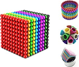 3//5mm Magnets Magic Balls Beads 3D Puzzle Ball Sphere Magnetic Toys-6 COLORS