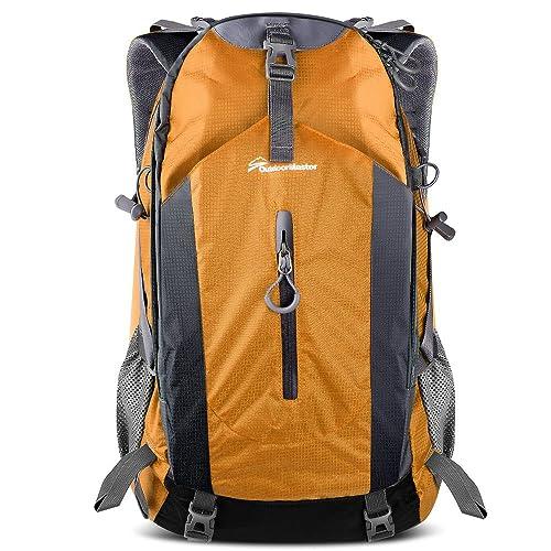 OutdoorMaster Hiking Backpack 50L - Hiking   Travel Backpack w Waterproof  Rain Cover   Laptop